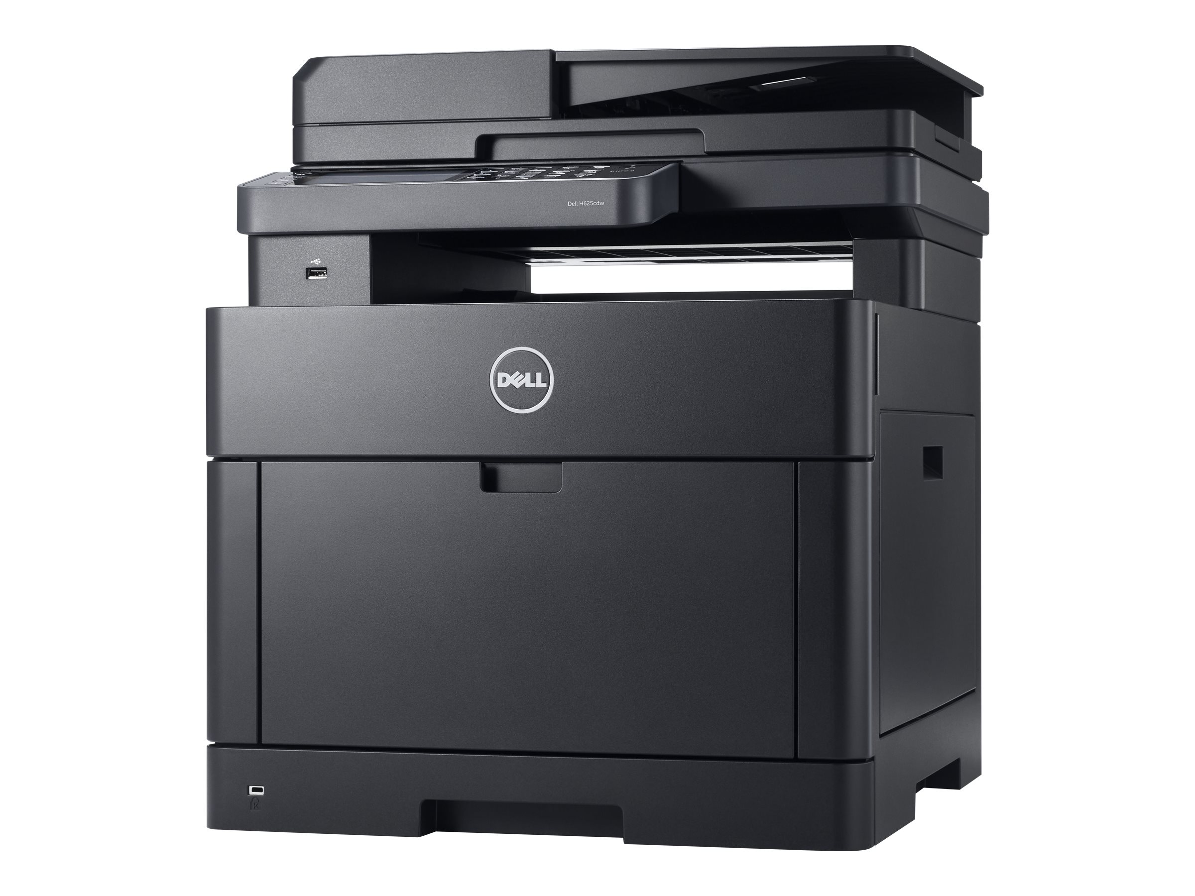 Dell Color Smart Multifinction Printer - H625cdw, 4MYG3, 30833100, MultiFunction - Laser (color)