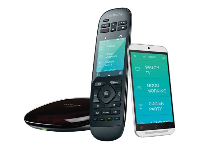 Logitech Ultimate Home Remote, Black, 915-000237, 18117645, Remote Controls - AV