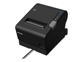 Epson T88VI Seria Ethernet USB Thermal Receipt Printer - Black, C31CE94061, 33987260, Printers - POS Receipt