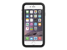 Amzer Crusta Rugged Case Shell Tempered Glass w  Holster, Black on Black, AMZ300236, 33582588, Carrying Cases - Phones/PDAs