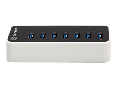 Syba 7PORT USB 3.0 5GBPS SUPER SPEEDCTLRIO CREST HUB WITH AC POWER ADAPTER, SY-HUB20152