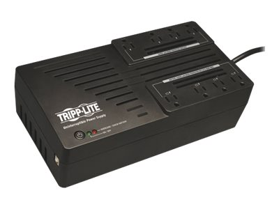 Tripp Lite 550VA UPS Low Profile Line-Interactive (8) Outlet, AVR550U, 6087194, Battery Backup/UPS