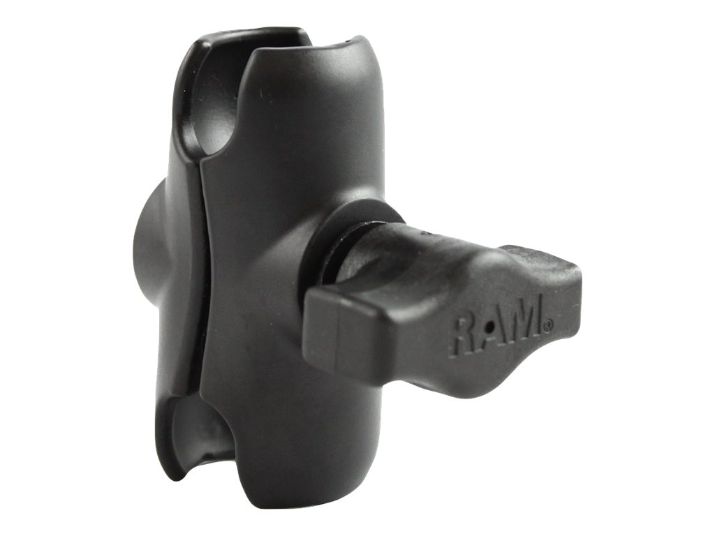 Ram Mounts Short Double Socket Arm for 1 Balls
