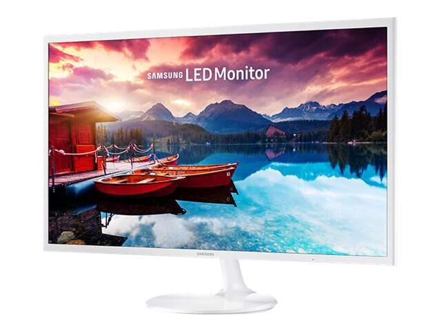 Samsung 31.5 SF351 Full HD LED Monitor, White, LS32F351FUNXZA