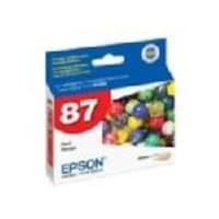 Epson Red UltraChrome Hi-Gloss 2 Ink Cartridge for Stylus Photo R1900 Printers, T087720, 8317926, Ink Cartridges & Ink Refill Kits