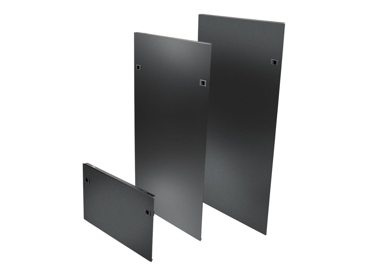 Tripp Lite SmartRack Heavy-Duty Open Frame Side Panels, 58U w  Latches, SR58SIDE4PHD, 30603574, Rack Mount Accessories