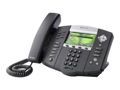 Polycom SoundPoint IP 670 6-Line IP Phone, HD Voice, 2-port Gigabit Ethernet, PoE, 2200-12670-025