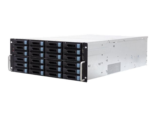 AIC RSC-4BH Chassis, 4U with 6G 24 Port & 12 Port Expander Backplane, 36 Bay, 1200W 80+ Gold Hot-Swap RP, RSC-4BH0C0PGSA2E0ALA
