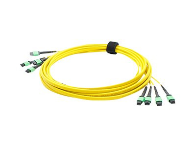 ACP-EP Fiber SMF Trunk 48 4MPO x 4MPO Female Type A OS1 Cable, 10m, ADD-TC-10M48-4MPF1