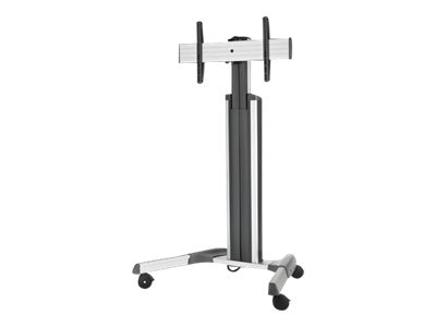 InFocus Adjustable Mobile Cart Pro for Mondopad, Silver, INF-MOBCARTPRO-S, 15740917, Monitors - Large-Format LED-LCD