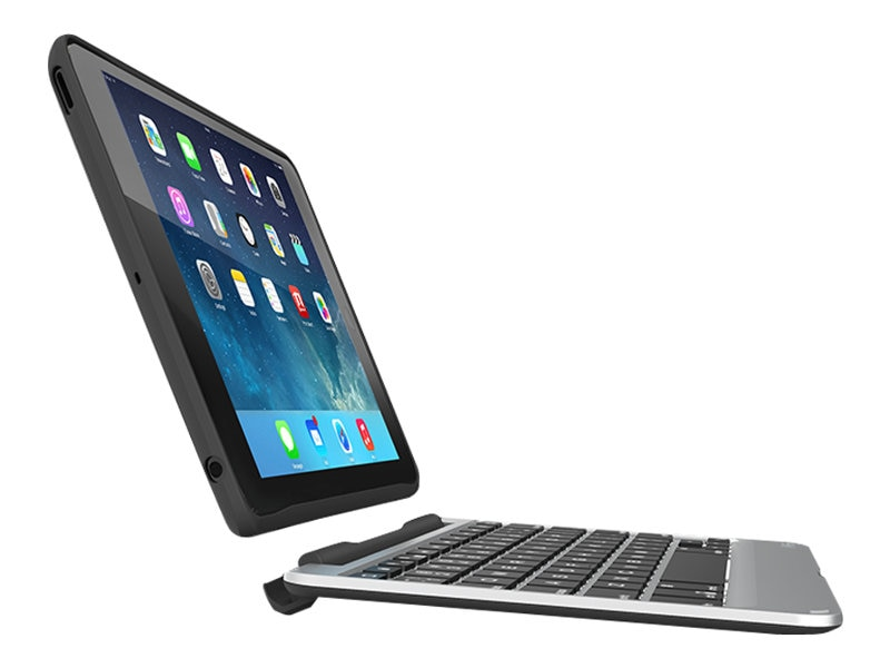 Zagg Slim Keyboard Case for iPad mini, mini 2, mini 3, Black, IM2ZF2BB0, 30872109, Keyboards & Keypads