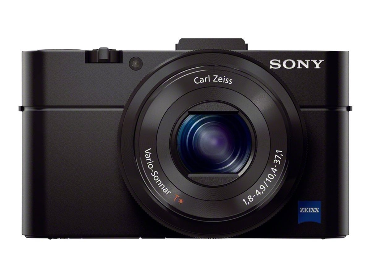 Sony Cyber-shot Digital Camera RX100 II, 20.2MP, Black, DSCRX100M2/B