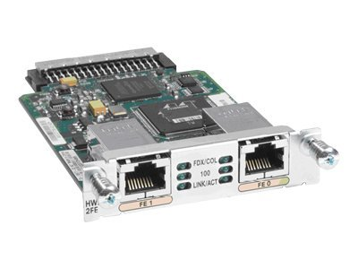 Cisco (2) 10 100-Routed Port HWIC