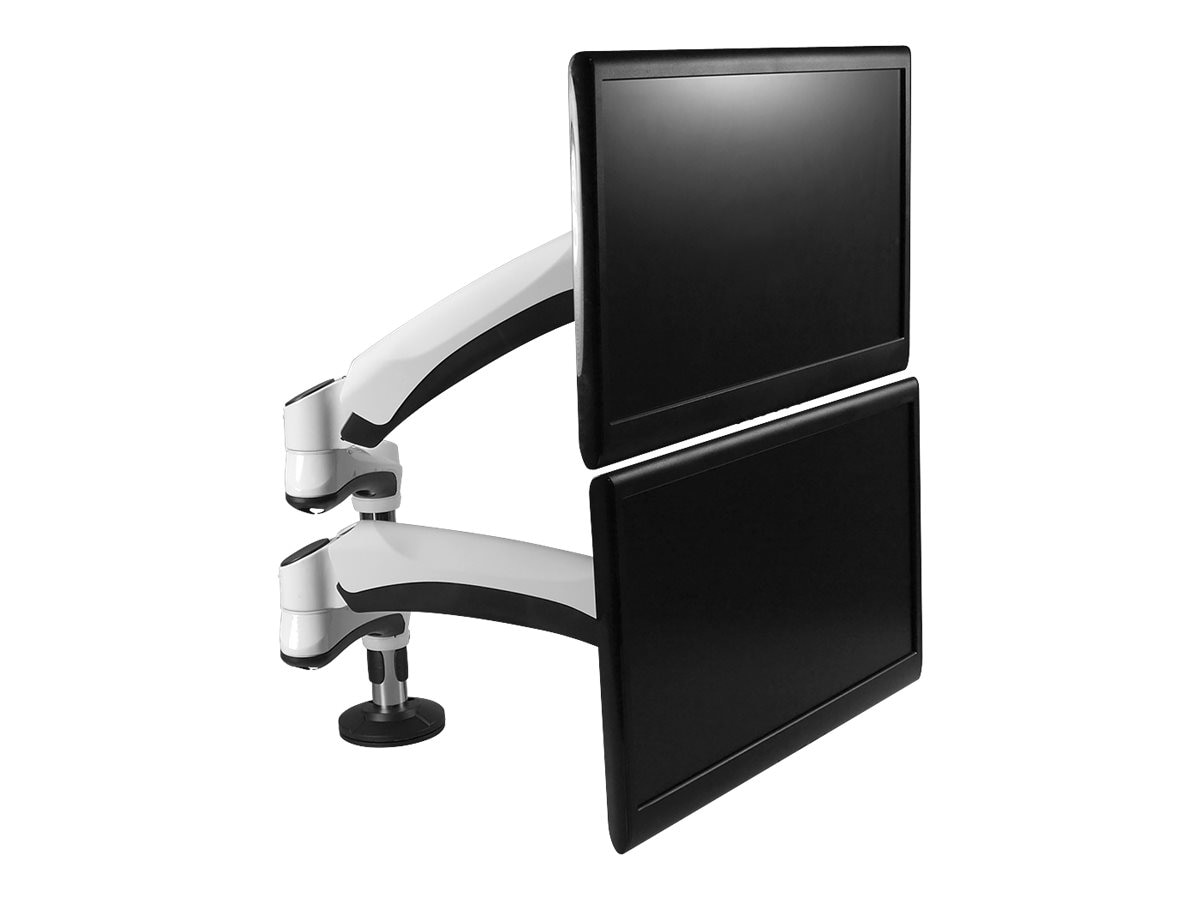 Siig Easy-Access Full Motion Dual Monitor Desk Mount for 13 to 27 Displays, CE-MT1Q11-S1