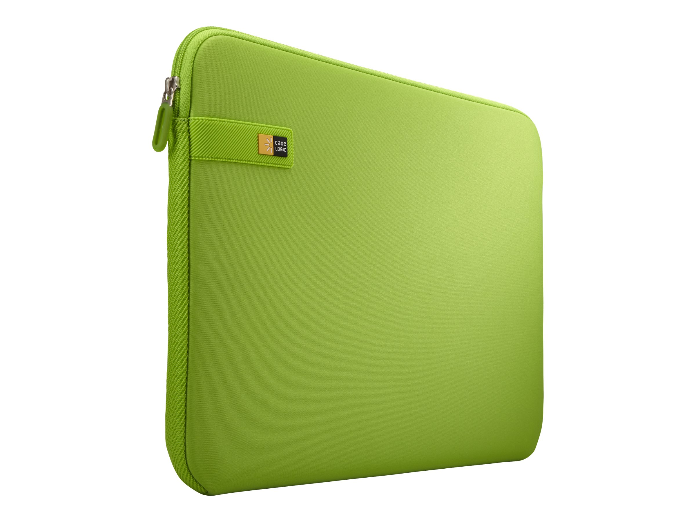 Case Logic Laptop Sleeve 15.6, Lime, LAPS116LIME, 29660985, Carrying Cases - Notebook
