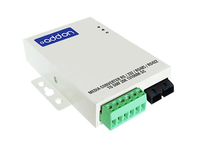 ACP-EP Media Converter 2SC 20K 1310NM RS 232 RS485 RS422 To SMF, ADD-SERIAL-2SC, 16223057, Network Transceivers