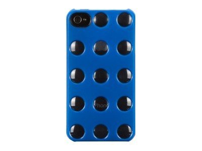 Griffin Reveal Orbit Case for iPhone 4, Blue-Clear, GB03379, 13337219, Carrying Cases - Phones/PDAs
