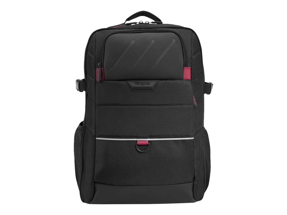 Targus 15.6 Gamer Laptop Carrying Backpack, Black, ONB523US-01