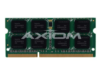 Axiom 8GB PC3-12800 DDR3 SDRAM SODIMM for Select Models, AX27693240/1