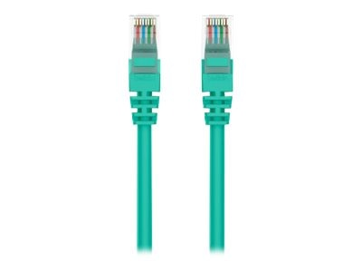 Belkin Cat5e Patch Cable, Green, 6ft, Snagless, A3L791-06-GRN-S
