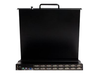 StarTech.com 17 Rackmount LCD Rack Console with Integrated 16 Port KVM, RACKCONS1716