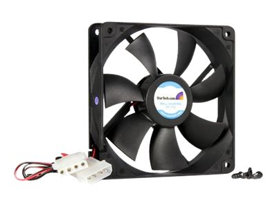 StarTech.com Cooling Fan, 12cm, High-Flow with Ball Bearings, FANBOX12