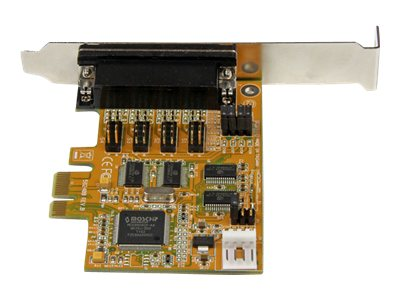 StarTech.com 4-Port PCI Express (PCIe) RS232 Serial Card w  Power Output and ESD Protection, PEX4S553S