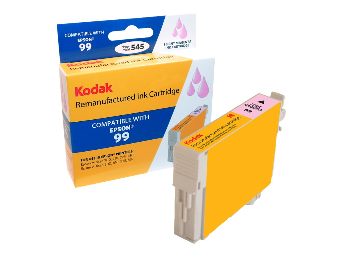 Kodak T099620 Light Magenta Ink Cartridge for Epson Artisan 700 & 710, T099620-KD