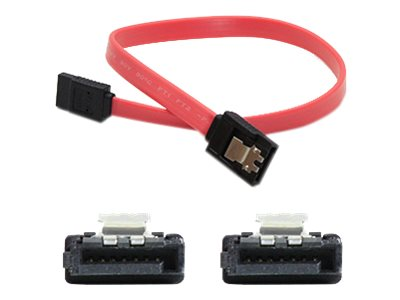 Add On SATA F F Serial Cable, Red, 1ft