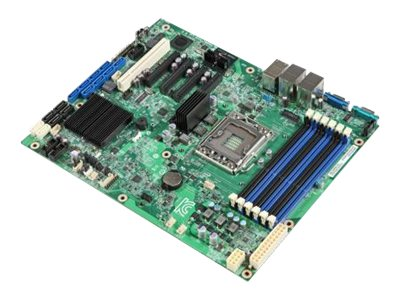 Intel Motherboard, EATX E5-2400 Family(x2) DDR3 8xSAS Vid, DBS1400FP2, 14765240, Motherboards
