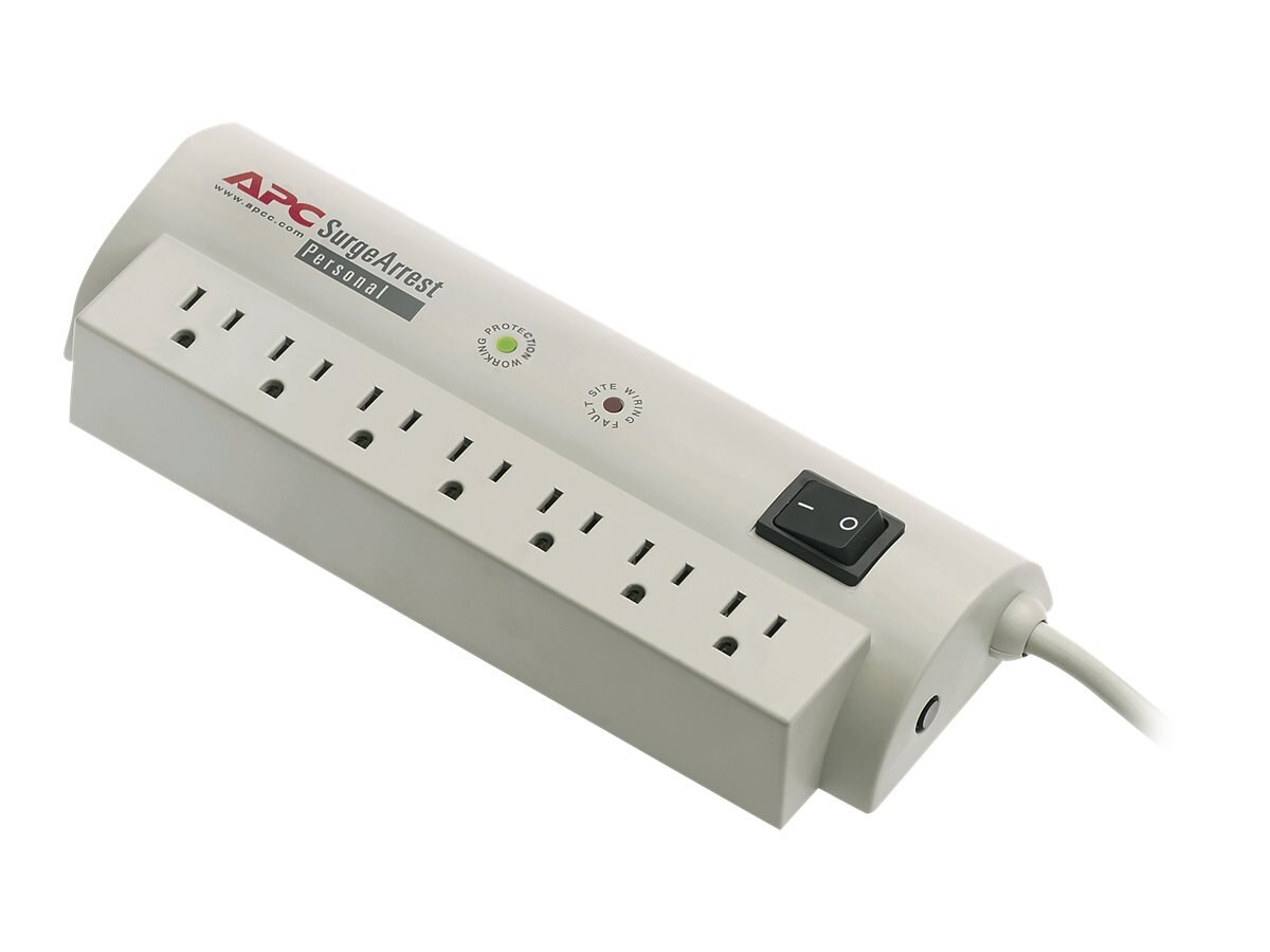 APC Personal SurgeArrest (7) 5-15R Outlets, PER7, 9636, Surge Suppressors