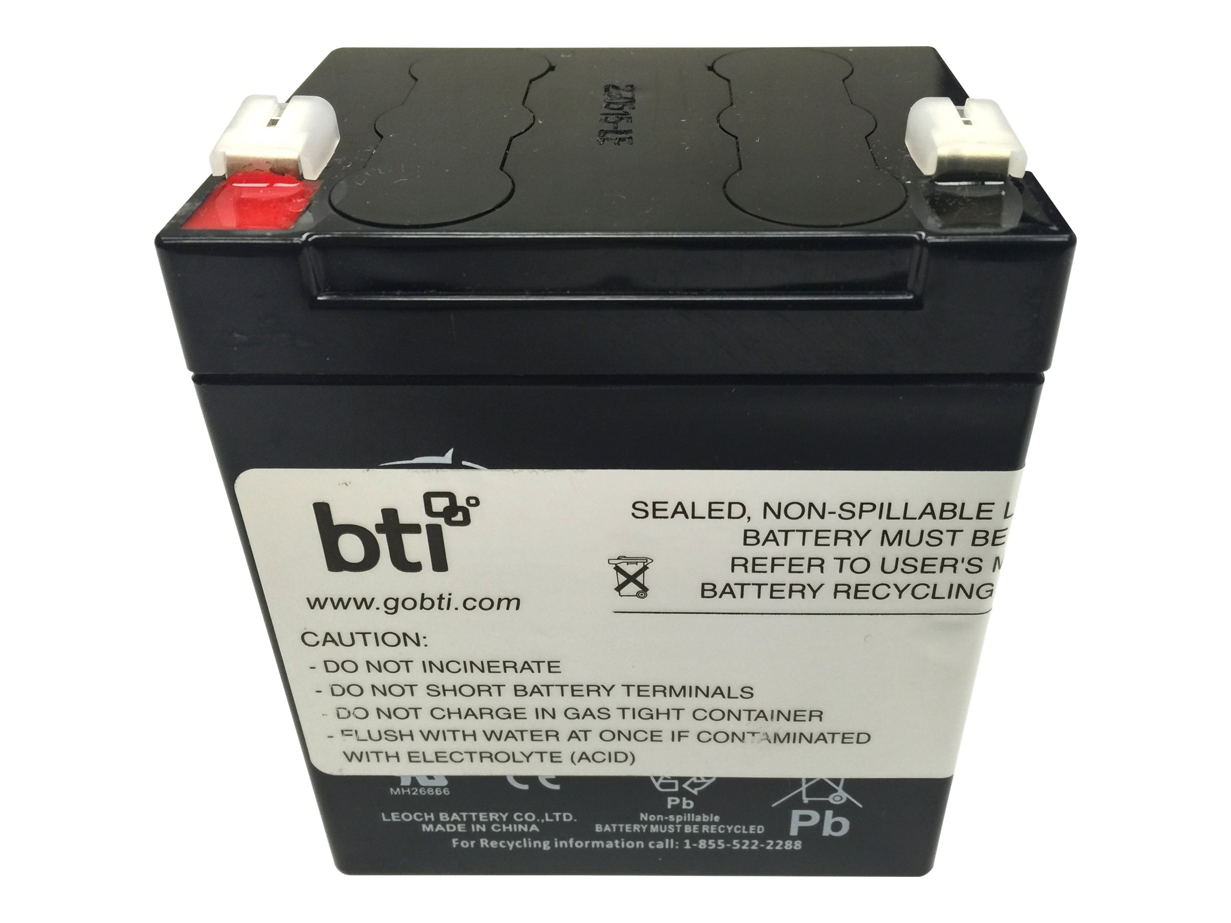 BTI RBC45 APC BE350 UPS Replacement Battery