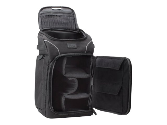 Accessory Genie Camera Sling Backpack w  Rain Cover, GRSLS15100BKEW, 17349604, Carrying Cases - Camera/Camcorder
