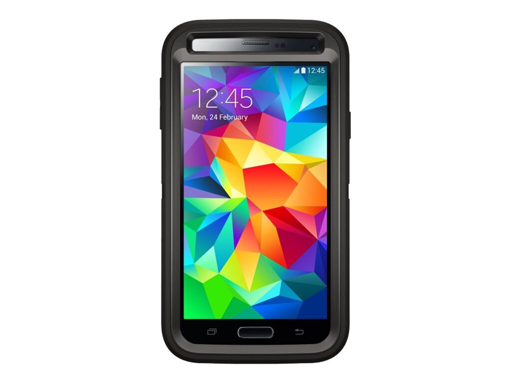 OtterBox Defender Series Case for Galaxy S5, Black, 77-38796, 16907221, Carrying Cases - Phones/PDAs
