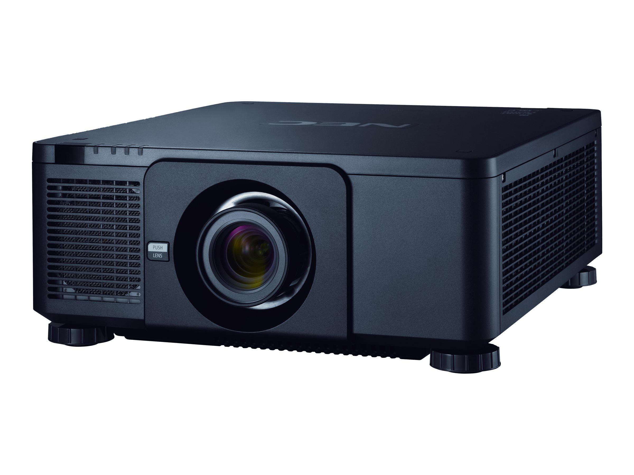 NEC NP-PX1004UL-BK WUXGA DLP Projector, 10000 Lumens, Black