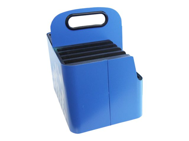 Lock N Charge iPad Aluminum Carry Basket, Blue, SUB7013, 16447026, Cart & Wall Station Accessories