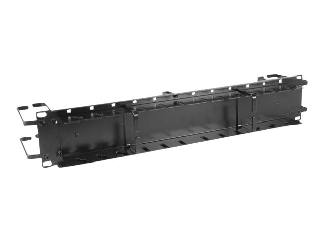 StarTech.com Horizontal Cable Management Panel, 2U x 19w, CMPNL2UCD