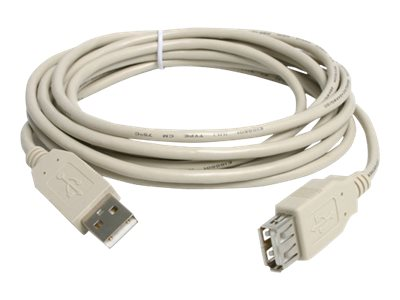 Add On USB 2.0 A to A M F Active Extension Cable, 6ft, USBEXTAA6