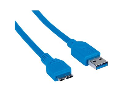 Manhattan USB 3.0 Standard-A male to USB 3.0 Micro-B male, 1m
