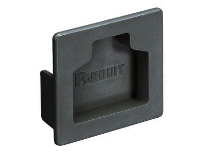Panduit End Cap 2x2 FiberRunner, Black, FHDEC2X2BL