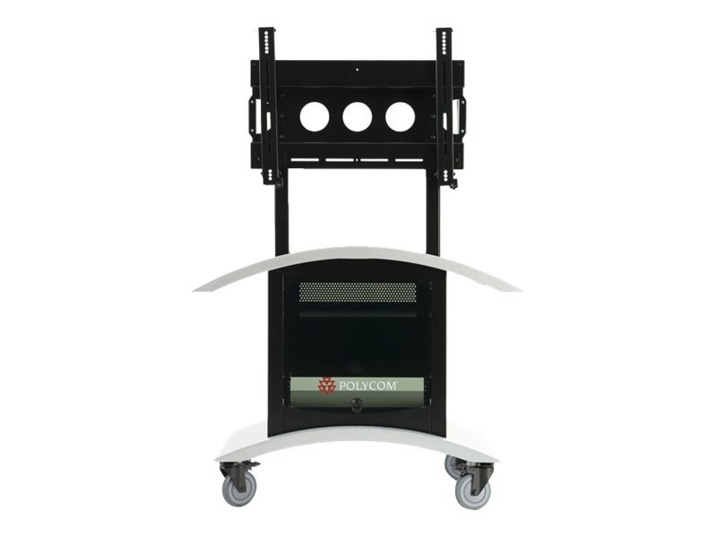 Polycom Media Cart w  Universal Display Mount, 2583-26914-001, 10657663, Mounting Hardware - Miscellaneous