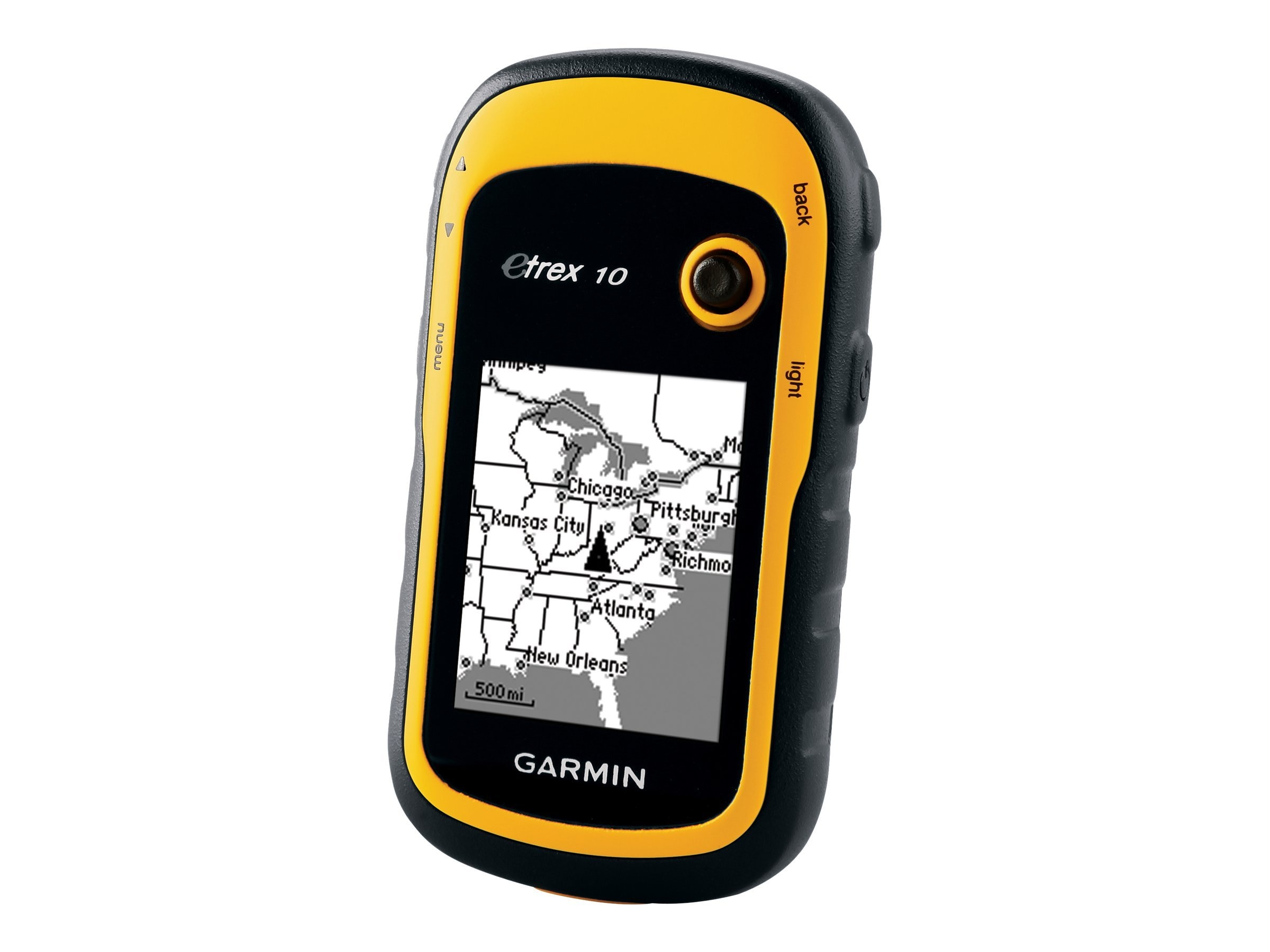 Garmin eTrex 10 GPS Handheld, Yellow, 010-00970-00, 13344929, Global Positioning Systems