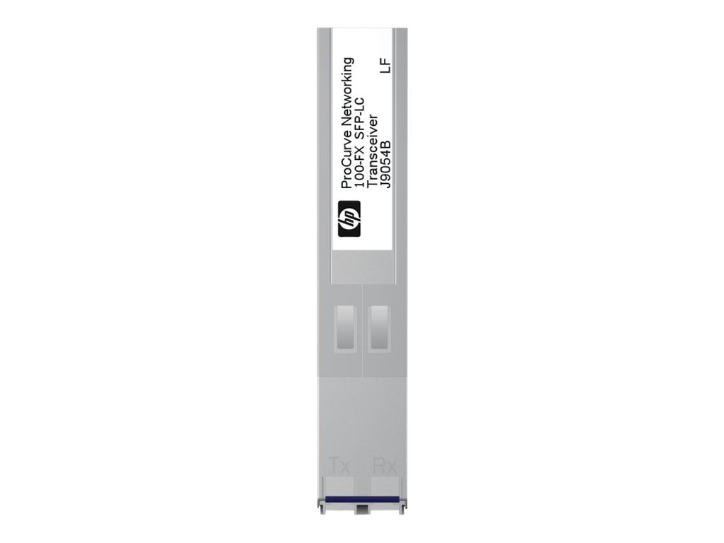 HPE X111 100M SFP LC FX Transceiver, J9054C, 13232425, Network Transceivers