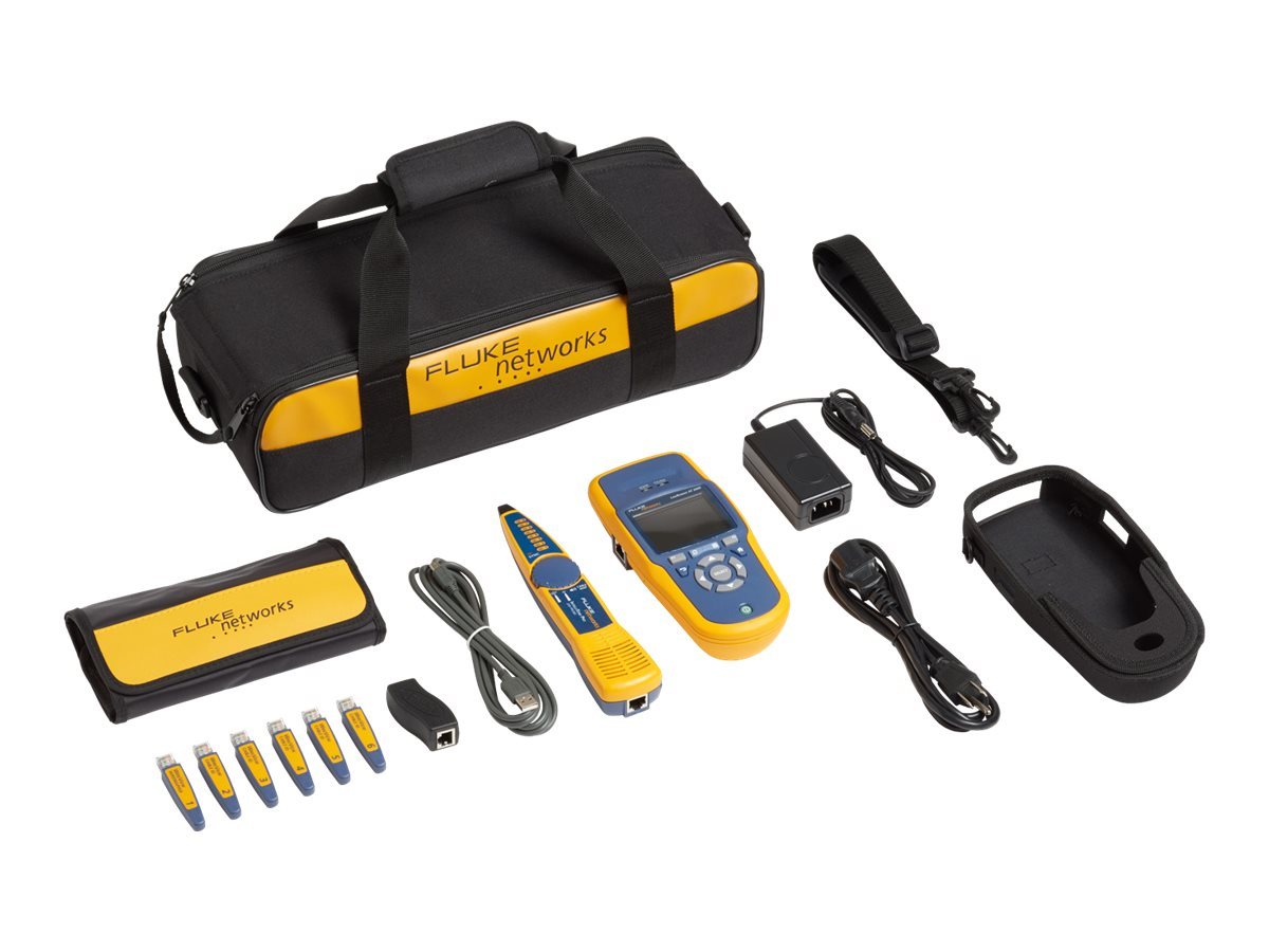 Fluke Linkrunner AT 2000 Extended Test Kit, LRAT-2000-KIT, 13694081, Network Test Equipment