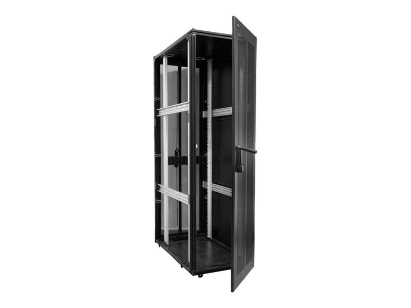 StarTech.com 42U x 42 Deep Server Rack Cabinet, Black, RK4242BK