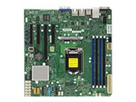 Supermicro Motherboard, X11SSM-004 SGL, MBD-X11SSM-O, 32482358, Motherboards