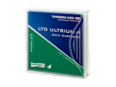 Tandberg Data Media, LTO-4 Ultrium, 433781, 7714372, Tape Drive Cartridges & Accessories