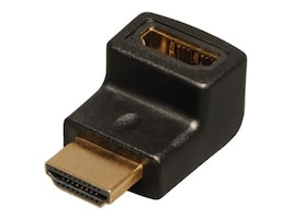 Tripp Lite HDMI Right Angle Adapter Coupler (M-F), P142-000-UP, 13104108, Adapters & Port Converters