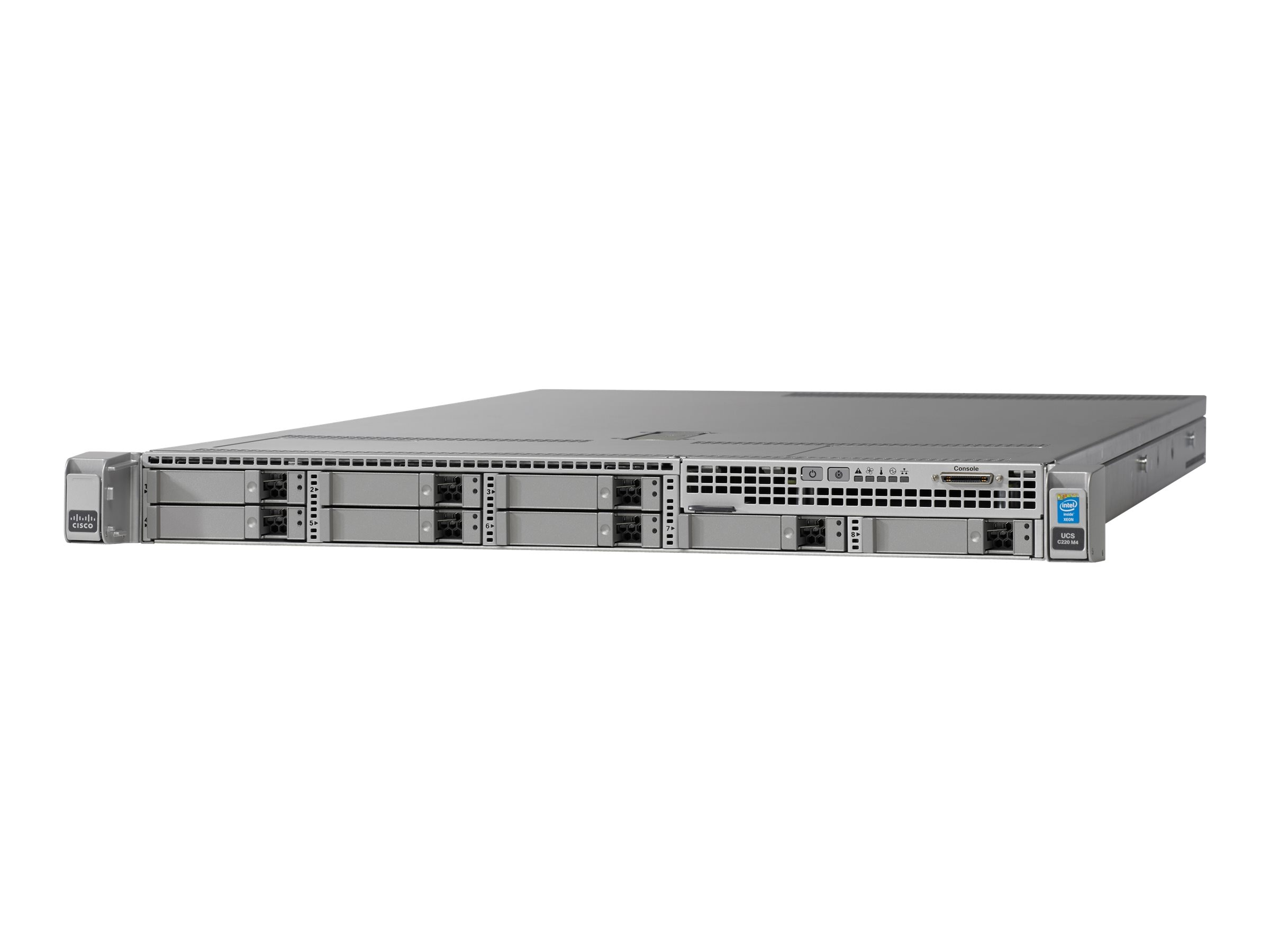 Cisco UCS C220 M4S E5-2620 v4 16GB MRAID 1x770W 32GB SD Rails