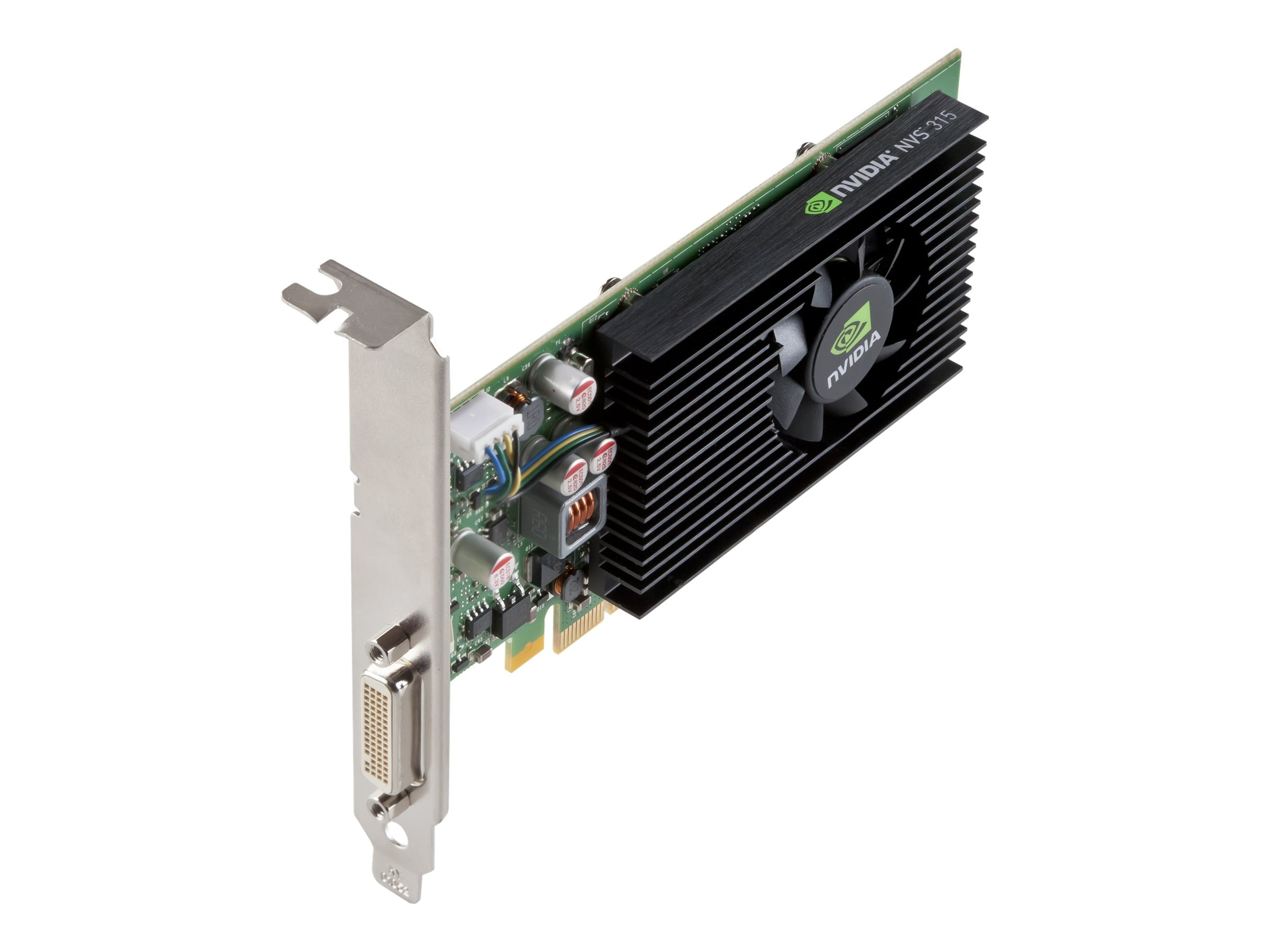 PNY NVIDIA NVS 315 LP PCIe x16 Graphics Card, DMS 59, 1GB, VCNVS315DVI-PB, 15904547, Graphics/Video Accelerators